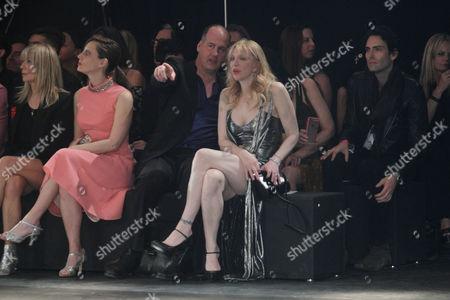 Krist Novoselic and Courtney Love