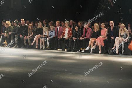 Courtney Love, Krist Novoselic, Liz Goldwyn, Lily Collins, Mark Ronson, Joan Jett, Justin Bieber, Beck and Jamie Hince  Saint Laurent