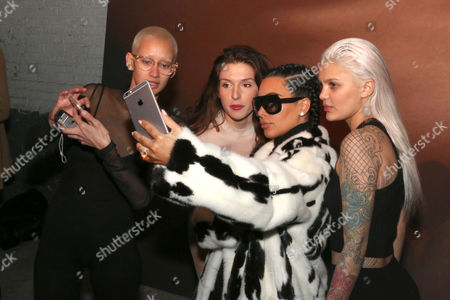 Brianna, Hafiia Mira, Kim Kardashian West and Amina Blue