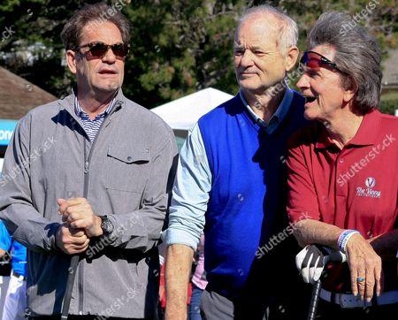 Huey Lewis with Bill Murray and Gary Mule Deer