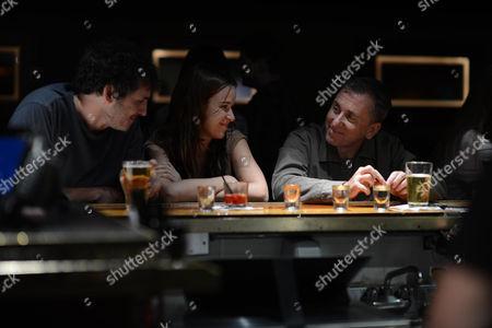Tate Ellingham, Claire van der Boom, Tim Roth