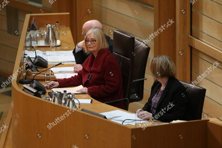 Rt Hon Tricia Marwick, The Presiding Officer of The Scottish Parliament