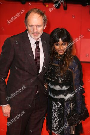 Anton Corbijn with wife Nimi Ponnadurai