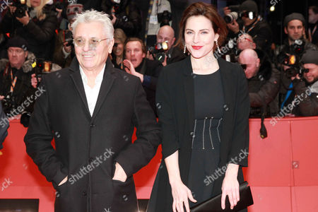 Antje Traue with guest