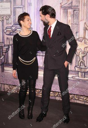 Noomi Rapace and husband Ola Rapace