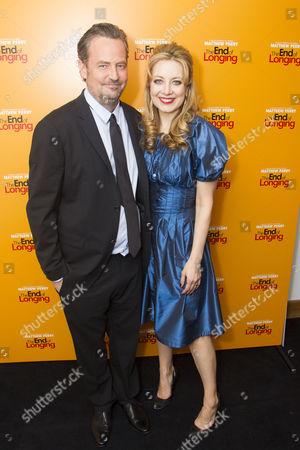 Matthew Perry (Author/Jack) and Jennifer Mudge (Stephanie)