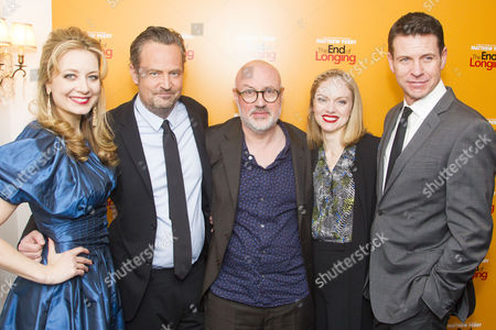 Jennifer Mudge (Stephanie), Matthew Perry (Author/Jack), Christina Cole (Stevie) and Lloyd Owen (Joseph)