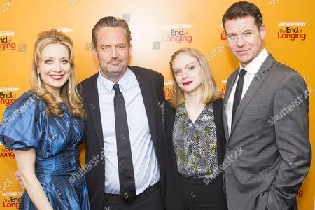 Jennifer Mudge (Stephanie), Matthew Perry (Author/Jack), Christina Cole (Stevie) and Lloyd Owen (Joseph)