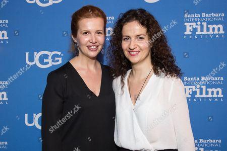 Stock Photo of Ivona Juka and Anita Juka