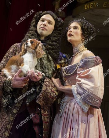 Editorial photo of 'Nell Gwynn' play performed at the Apollo Theatre, London, UK, 11 Feb 2016
