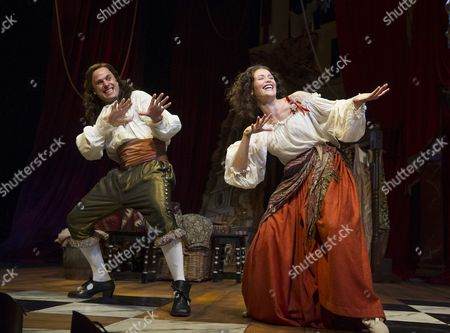 Jay Taylor as Charles Hart, Gemma Arterton as Nell Gwynn