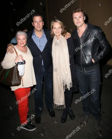 Stock Picture of Mindy Cohn, Jay Huguley, Helen Hunt, Blake Cooper Griffin