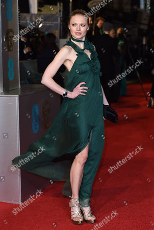 Editorial image of EE BAFTA British Academy Film Awards, Arrivals, Royal Opera House, London, Britain - 14 Feb 2016