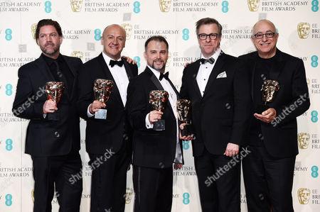 Chris Duesterdiek, Martin Hernandez, Frank A. Montano, Jon Taylor and Randy Thom