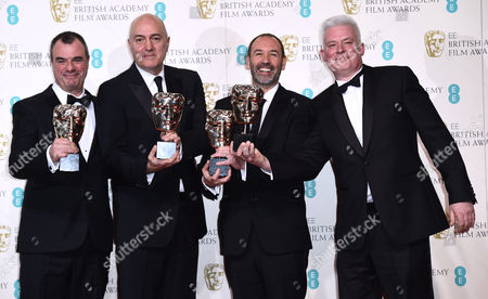 David Acord, Andy Nelson, Christopher Scarabosio, Matthew Wood and Stuart Wilson - Best Sound for Star Wars: The Force Awakens