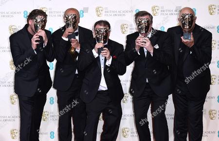 Editorial photo of EE BAFTA British Academy Film Awards, Press Room, Royal Opera House, London, Britain - 14 Feb 2016