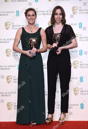 Stock Image of Director Caroline Bartleet and producer Rebecca Morgan