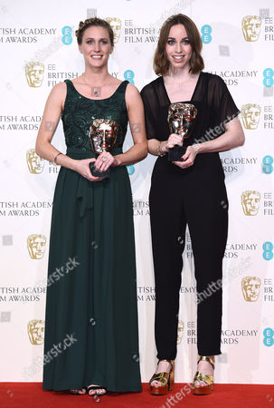 Editorial photo of EE BAFTA British Academy Film Awards, Press Room, Royal Opera House, London, Britain - 14 Feb 2016