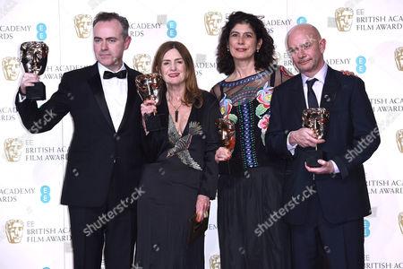 John Crowley, Finola Dwyer, Amanda Posey and Nick Hornby