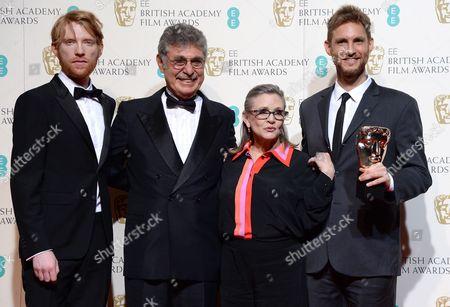 Editorial picture of EE BAFTA British Academy Film Awards, Press Room, Royal Opera House, London, Britain - 14 Feb 2016