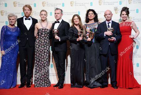 Julie Walters, Domhnall Gleeson, Saoirse Ronan, John Crowley, Finola Dwyer, Amanda Posey, Nick Hornby