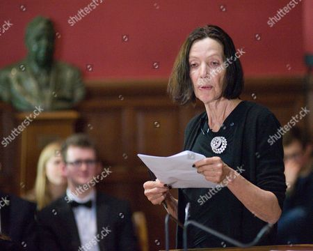 """Editorial picture of """"This House believes Nuclear Weapons have no place in 21st Britain"""" debate Oxford Union, Oxford, Britain - 11 Feb 2016"""