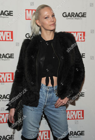 Editorial photo of Garage Magazine Marvel issue launch party, New York, America - 11 Feb 2016