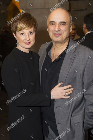 Madelaine Brennan (Assistant Choreographer) and Peter Polycarpou