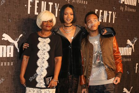 Monica Braithwaite, Rihanna and Rajad Fenty