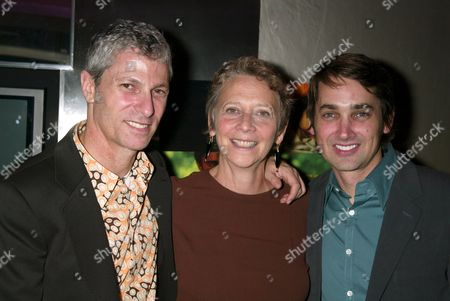 David Siegel, director, Naomi Foner Gyllenhaal, screenwriter of the film, and Scott McGehee, director