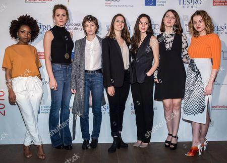 Martha Canga Antonio, Tihana Lazovic, Lou de Laage, Daphne Patakia, Sara Serraiocco, Maria Valverde and Jella Haase