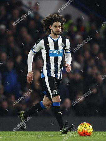 Fabricio Coloccini of Newcastle United   during the Barclays Premier League match between Chelsea and Newcastle   played at Stamford Bridge  , 13th February 2016 in London