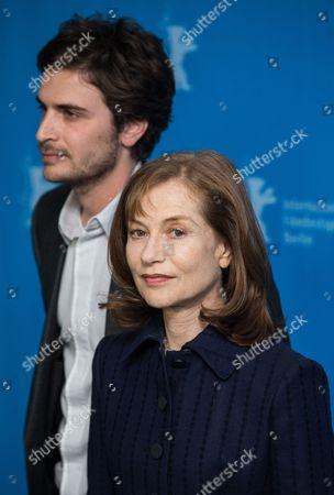 Roman Kolinka and Isabelle Huppert