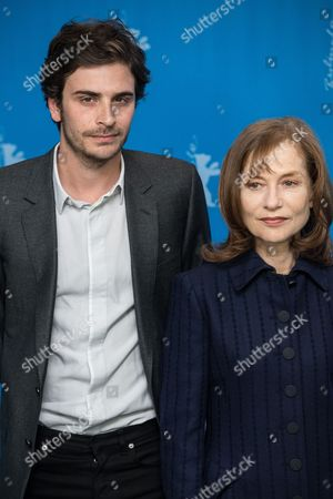 Roman Kolinka and Isabelle Huppert