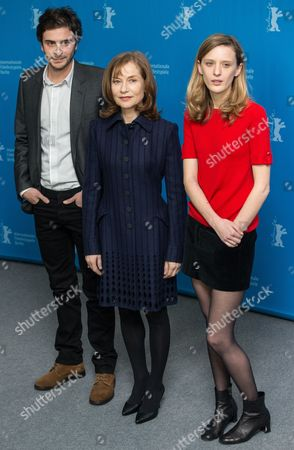Roman Kolinka, Isabelle Huppert and Mia Hansen-Love