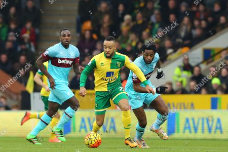 Editorial image of Norwich City v West Ham United, Barclays Premier League, Football, Carrow Road, Britain - 13 Feb 2016