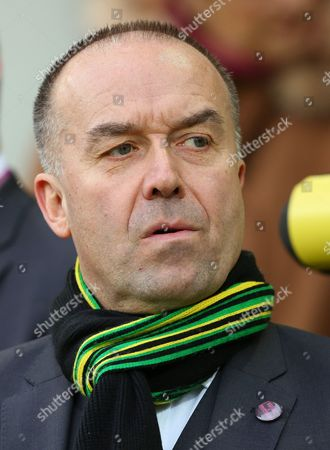 Stock Picture of Norwich City chief executive, David McNally looks on - Norwich City v West Ham United, Barclays Premier League, Carrow Road, Norwich. 13 Feb 2016
