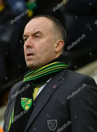 Stock Image of Norwich City chief executive, David McNally - Norwich City v West Ham United, Barclays Premier League, Carrow Road, Norwich. 13 Feb 2016