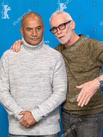 Stock Image of Temuera Morrison and Lee Tamahori