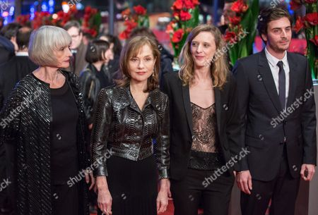 Edith Scob, Isabelle Huppert, Mia Hansen-Love and Roman Kolinka