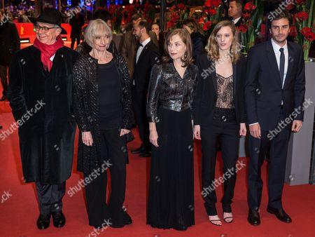 Dieter Kosslick, Edith Scob, Isabelle Huppert, Mia Hansen-Love and Roman Kolinka