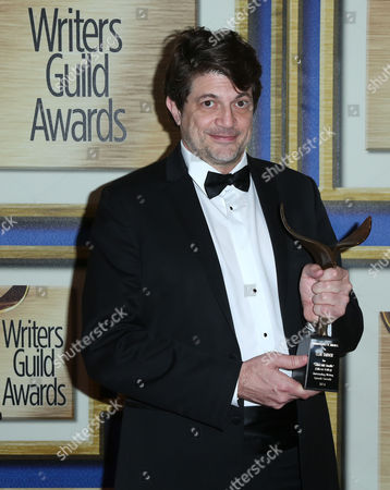 Editorial image of 68th Annual Writers Guild Awards, Press room, West Coast Ceremony, Los Angeles, America - 13 Feb 2016