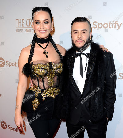Stock Picture of Katy Perry with Ferras