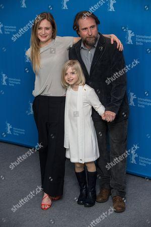 Stock Photo of Julia Jentsch, Emilia Pieske and Bjarne Madel