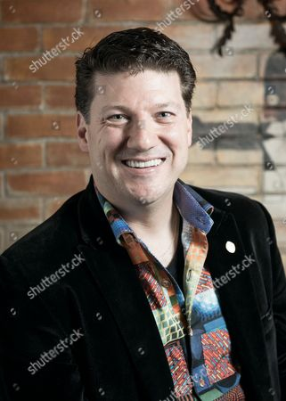 Brighton United Kingdom - July 14: Portrait Of Randy Pitchford Ceo Of Gearbox Software Photographed At The Evolve Conference In Brighton On July 14