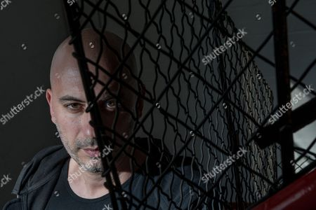 Stock Image of London United Kingdom - April 14: Portrait Of Italian Dance Music Producer And Dj Stefano Miele Better Known By His Stage Name Riva Starr Photographed In London On April 14