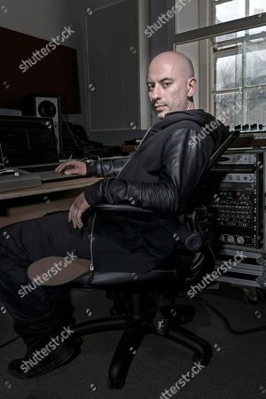 Stock Photo of London United Kingdom - April 14: Portrait Of Italian Dance Music Producer And Dj Stefano Miele Better Known By His Stage Name Riva Starr Photographed At His Studio In London On April 14