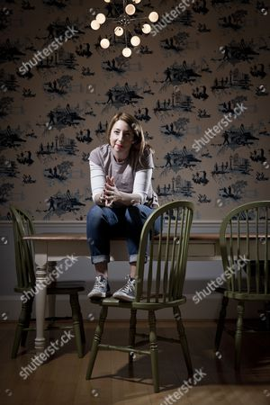 London United Kingdom - March 2: Portrait Of Scottish Author Jenny Colgan Photographed In London On March 2 2015. Colgan Is Best Known As A Writer Of Romantic Comedy But Also Writes Science Fiction Under The Pseudonym J. T. Colgan