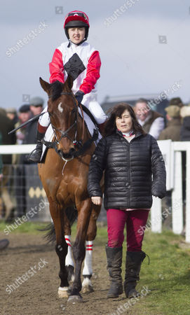 Lily Bradstock, (riding) and her mother Sara Bradstock, daughter of Lord Oaksey.