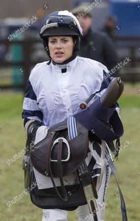 Stock Image of Camilla Henderson daughter of trainer Nicky Hendeson.